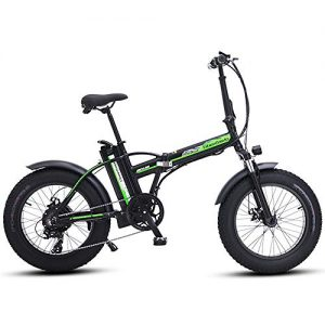 MEICHEN Electric bike 20 inch 48V500W electric mountain bike electric folding bike 4.0 fat beach bike