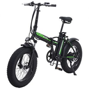 Shengmilo MX20 Electric Bicycle, Folding Electric Bicycle, Fat Tire Ebike, 48V 15AH,500W