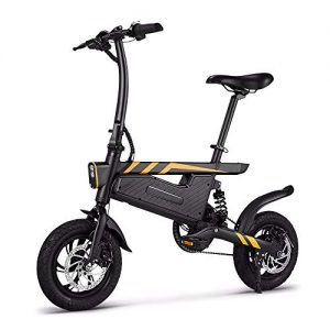 Green Travel E-Bike 12 Inch Folding Power Assist Eletric Bicycle 250W Motor Brakes Bicycle Foldable Foot Pedal Electric Bike Outdoor Cycling