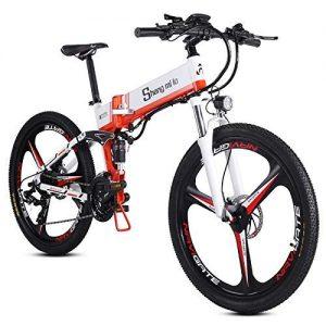 WJSW 26 inch folding electric mountain bike bicycle Electric bicycle electric bike electric bicycle electric