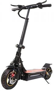 Qiewa Q1Hummer Electric Scooter Outdoor Foldable With Dual Disk Brakes Upto 100 Kilometer Or 62 Miles Of Driving Range