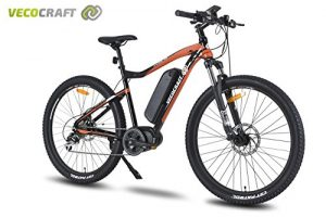 Veco Craft Hades M8 Electric Mountain Bike, Men's, Electric, 48 V 250 W Bafang Max Mid Motor