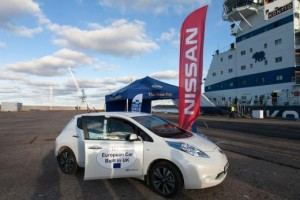 Rapid charge electric network lead by Nissan