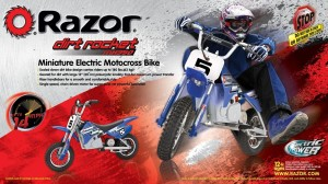 Razor MX350 electric scrambler/dirt style bike