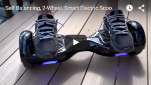 Self Balancing, 2-Wheel, Smart Electric Scooter, Mini-Segway, Hoverboard REVIEW