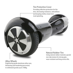 2 Wheel self balancing electric scooter hover board with Bluetooth speaker UK