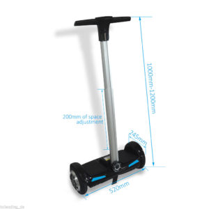 Hoverboard with handles