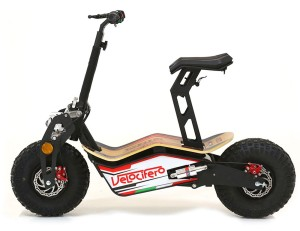Electric, foldable e-scooter with a modern, elegant design. MAD, the new VELOCIFERO